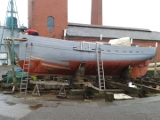 Joe, Eric and I repainted the hull