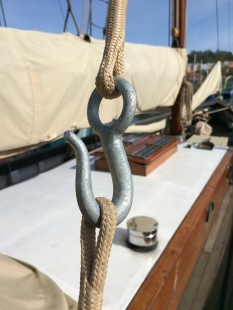 Jay's new Dyneema backstays
