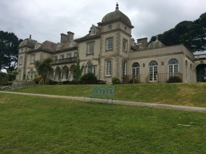 Fowey Hall, maybe the model for Toad Hall in Wind of the Willows