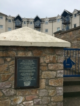 Site of Uphams Yard, which built many of Brixham's big wooden trawlers and converted Guiding Star from a fishing boat to a yacht in 1937