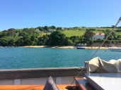 Salcombe the day after