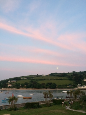 Sunset in Salcombe