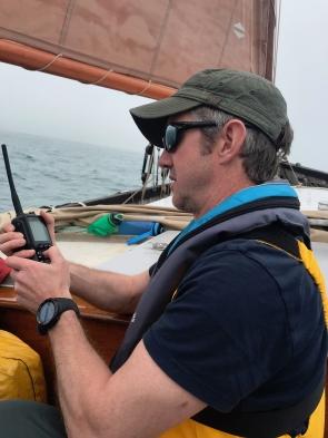 Matt on VHF duty