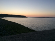 Camaret, our first night in France