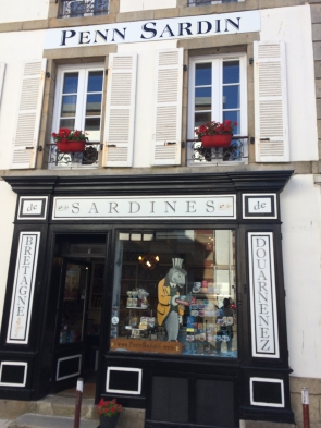 Douarnenez is all about sardines