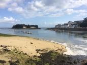Ile Tristan, reachable at lowest low tide