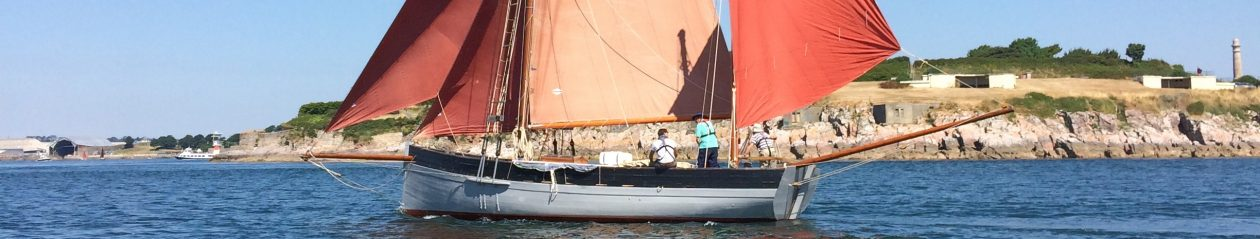 Guiding Star Looe Lugger 1907
