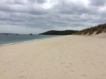 Thomas and I took the ferry and walked round the island of Herm