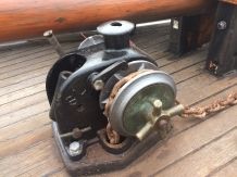 Windlass back in place